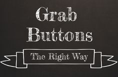 Grab buttons for Blogger & Wordpress. Completely updated April 2013 to work with the new Blogger editor.