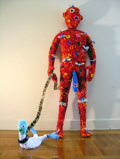 What You Don't Learn in Art Class - Creepy Pipe Cleaner Art