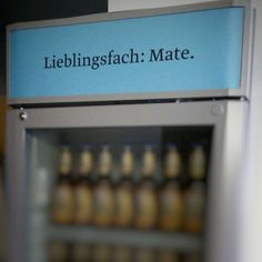 Lieblingsfach: Mate. #FridgeFriday No. 102 #TGIF
