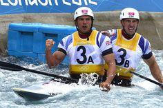 Baillie and Scott's stunning run gave Britain their first ever Olympic gold in the canoe slalom.