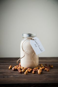 Unlike other nut milks, hazelnut milk has a TON of richness. Not because it's any fattier than any other nut milk, but because it has so much flavor. Use it like creamer in your coffee and you will be one happy camper (I know I am). Nut Milk Bag, How To Roast Hazelnuts, Vegan Milk, Best Shakes, Coconut Whipped Cream, Chocolate Hazelnut, Love People, A Table, Just In Case