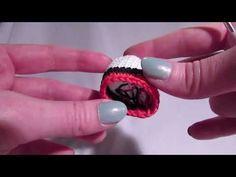 Láthatatlan színváltás - YouTube Class Ring, Gemstone Rings, Gemstones, Knitting, Crochet, Youtube, Amigurumi, Creative, Gems