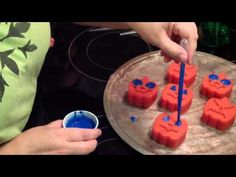 Painting Soap - YouTube This link is to a video showing how to paint the beaks and eyes on 3D ducky soaps.