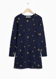 & Other Stories | Star Jacquard Dress,