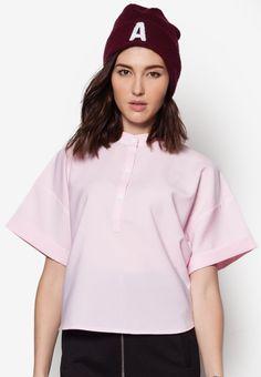 Buy Maxqullo Light Pink Oversized Top | ZALORA HK