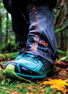Hiking or running in nasty, wet weather? Gaiters help to keep the debris out of your shoes and keep them longer dry. @outdoorresearch