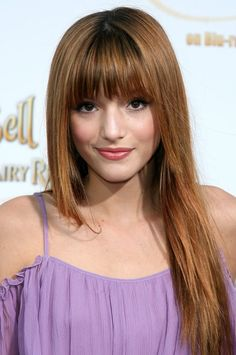 cute bangs with long hair... it can be done