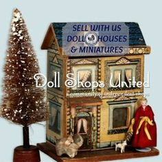 Do you specialize in selling MINIATURES OR DOLL HOUSES? Consider joining, the world class dealers @Doll Shops United. Choose your shop template, design and build your shop, the way you build a doll house. For more information, click this link - http://www.dollshopsunited.com/sell/