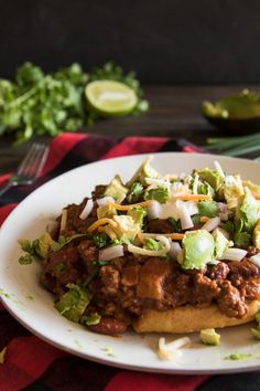This chili is loaded