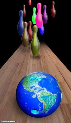 Globe Bowling Ball