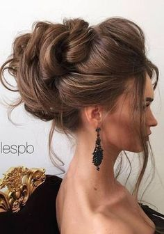 Half-updo, Braids, Chongos Updo Wedding Hairstyles / http://www.deerpearlflowers.com/wedding-hair-updos-for-elegant-brides/3/ #'weddingupdos'