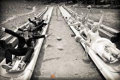 Classic!  Party on the Alpine Slide!  Love #Summer Weddings!  Melissa & Steve's Wedding - Durango Mountain Resort - Durango, Colorado