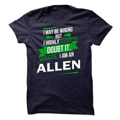 [Best Tshirt name list] Its a ALLEN Thing Strong name 2015 Discount Today Hoodies Tee Shirts