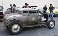 rat rods | 1932 Ford 5-window coupe - chopped rat rod - Hemi powered - rvr - AACA ...