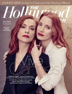 THR's #Cannes Issue: @Jes_Chastain, Isabelle Huppert and the 70 biggest moments of the festival's 70 years http://thr.cm/xWpJ18