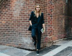 Snapped: Suited Up | Olivia Palermo