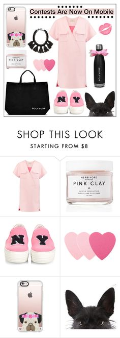 """""""#Contestonthego #Contestentry"""" by pat912 ❤ liked on Polyvore featuring Maison Kitsuné, Herbivore Botanicals, Joshua's, Sephora Collection, Casetify, Cocoa, contestentry, polyvoreeditorial and ContestOnTheGo"""