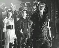 Izzy, Alec & Jace  (Club scene in the City of Bones Movie)