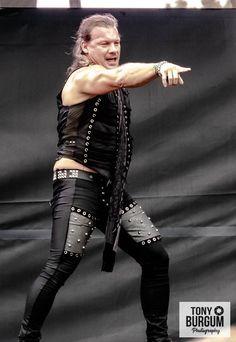 Metal Health, Chris Jericho, Future Husband, Champion, Leather Pants, Punk, Style, Fashion, Leather Jogger Pants