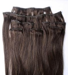 24 inches 7pcs Clip In Human Hair Extensions 2 by Hairfauxyou