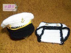 conjunto marinheirinho em croche - Pesquisa Google