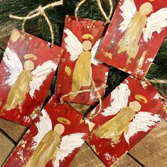 Diy christmas angel ornaments etsy New ideas Diy Christmas Angel Ornaments, Christmas Wood Crafts, Christmas Canvas, Etsy Christmas, Christmas Paintings, Gold Christmas, Christmas Angels, Christmas Projects, Holiday Crafts