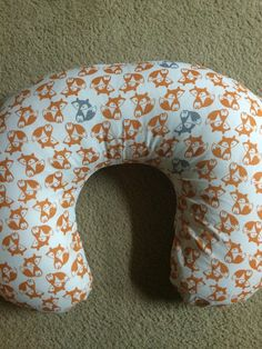 Hey, I found this really awesome Etsy listing at https://www.etsy.com/listing/230645879/gray-and-orange-fox-nursing-pillow-and