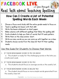 Today I wanted to talk real about spelling instruction by comparing the traditional spelling programs to a differentiated approach.