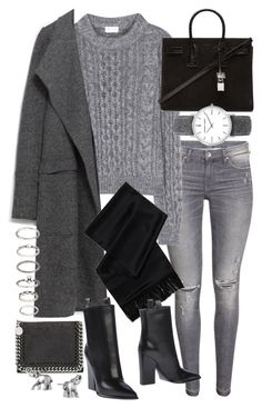 """""""Untitled #19557"""" by florencia95 ❤ liked on Polyvore featuring Yves Saint Laurent, Zara, CÉLINE, STELLA McCARTNEY, Lonna & Lilly, Forever 21, women's clothing, women, female and woman"""
