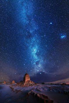 Samanyolu Galaksisi~Milky Way over Mungo Beautiful Sky, Beautiful Landscapes, Night Photography, Nature Photography, Milky Way Photography, Photography Shop, Boudoir Photography, Cosmos, Digital Foto