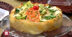 Torta de carne moída e batata - TV Gazeta