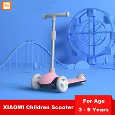 XIAOMI Children Balance Scooter Child Kick Scooter Baby Walker Balance Learning Foot Scooter for Year Old Child Kids Scooter, Oldest Child, 3rd Wheel, 6 Year Old, Electronic Toys, Aluminium Alloy, Scooters, 6 Years, Kicks
