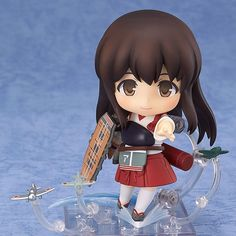 "17.09$  Watch here - http://alijx2.shopchina.info/go.php?t=32754045362 - ""New Anime Nendoroid 4"""" Kantai Collection Akagi #391 PVC Action Figure Collectible Model Kids Toys Doll 10CM ACAF068"" 17.09$ #SHOPPING"