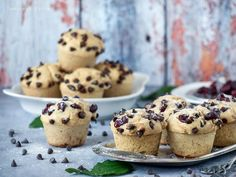 Palacsintamuffin Muffins, Paleo, Food And Drink, Cookies, Breakfast, Cupcake, Beverages, Crack Crackers, Morning Coffee