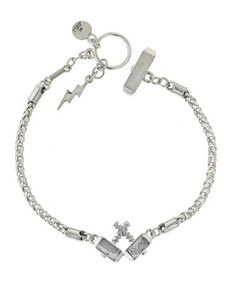 Silver Thor Double Hammer Bracelet by Marvel on #zulily today! I WANT !!