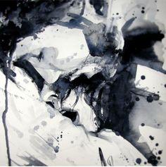 Anna Dart - contemporary multidisciplinary art from Barcelona based artist - arte contemporaneo artista de Barcelona - art contemporain artiste de Barcelone - About - Paintings - Performances - Contact Sexy Drawings, Couple Drawings, Romance Art, Writing Art, Arte Horror, Couple Art, Erotic Art, Love Art, Illusion