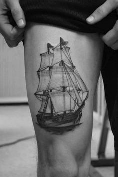 Done By Brant Newton http://tattoos-ideas.net/done-by-brant-newton/ Leg Tattoos