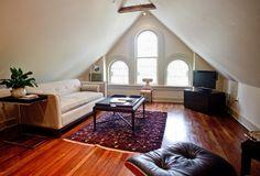 Sewing Room at Stonehurst Place B in Atlanta GA ... perfect for Atlanta in April, non?