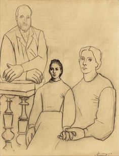 Pablo Picasso - The Family, 1919