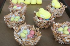 Bird's Nest Snack for spring or Letter N Week!