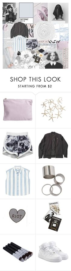 """""""WOLPERTINGER"""" by bosspresident ❤ liked on Polyvore featuring BAGGU, Vagabond, ASOS, Monki, Assouline Publishing, NIKE and Clips"""