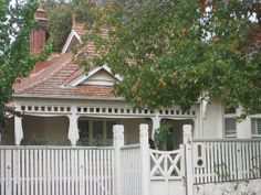 Weatherboard with terracotta roof paint colours too bland. Art Nouveau Autumn by raaen99, via Flickr