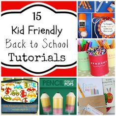 15 Great Kid Friendly Back to School Ideas + Tutorial #BUDDYFRUITSB2S