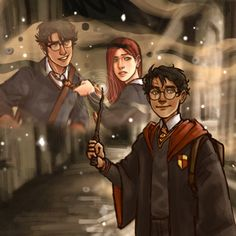 Headcanon Harry Potter, Harry Potter Comics, Harry Potter Drawings, Harry Potter Pictures, Harry Potter Fan Art, Harry Potter Universal, Harry Potter Fandom, Harry Potter Characters, Harry Potter World