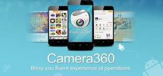 Camera360 Ultimate Apps for #Android, With its simple operations, fantastic effects, and fluent UE, Camera360 won support and favor from more than 20 million fans in every corner on the earth within just one year.