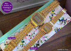 Casio Gold, Casio Watch, Pandora, Watches, Beautiful, Jewelry, Extreme High Heels, Ladies Accessories, Random Things