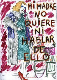 Mi madre no quiere ni hablar de ello. Agustí García Monfort  www.facebook.com/agustigarciabadpainting