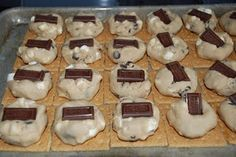 s'more cookies...what a fun way to make s'mores!