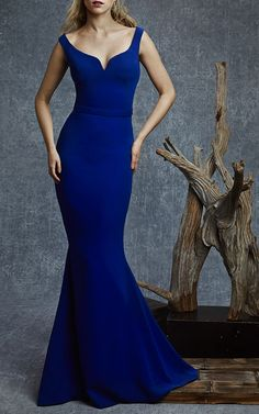 Sculpted Sheath Gown by Reem Acra