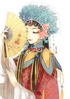 ninh dịch Nikki Love, Boy Art, Art Girl, Art Drawings, Ngôi Sao, Ancient Art, Ancient China, Aesthetic Design, Creative Pictures